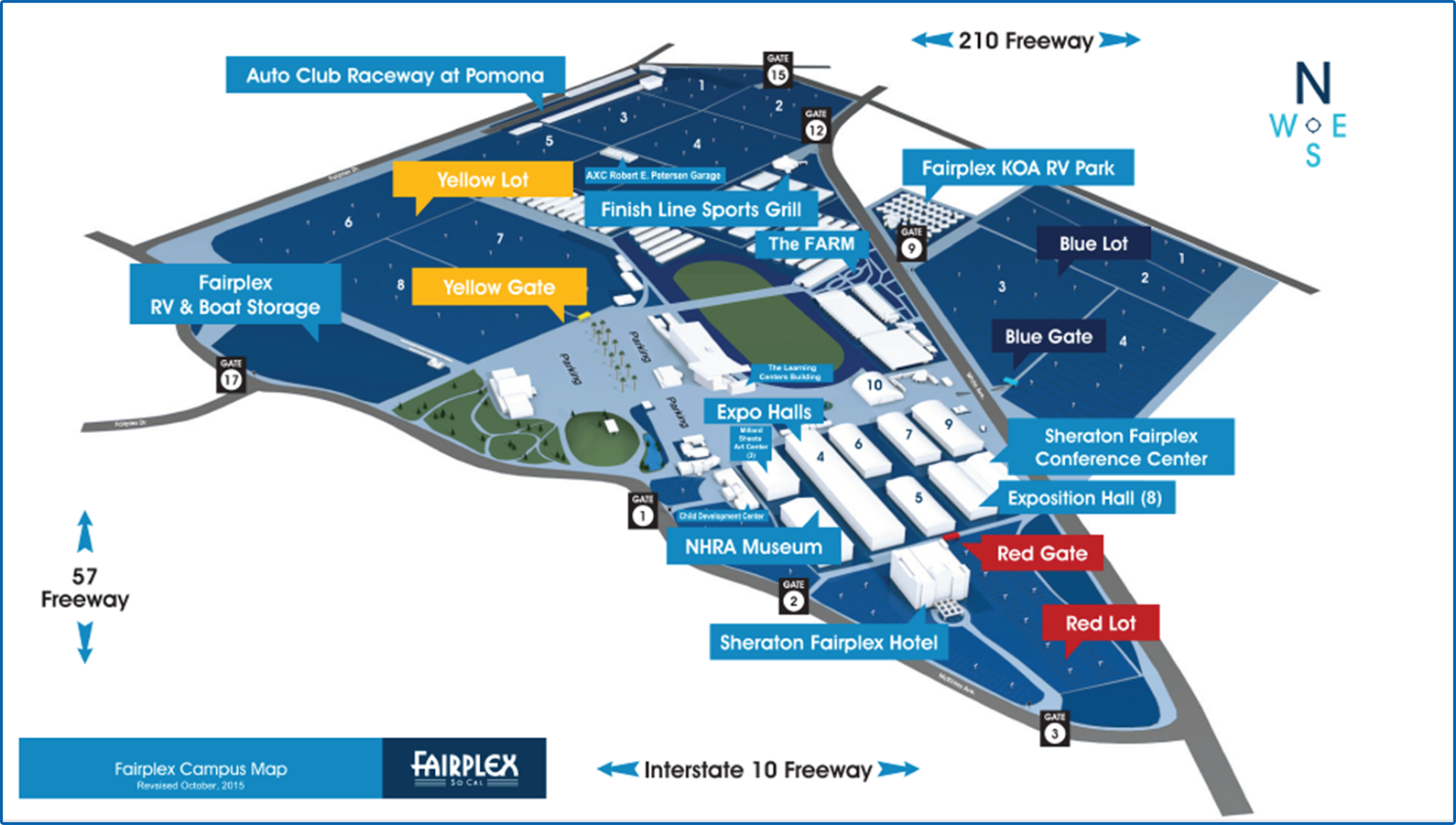 Fairplex Grounds Map