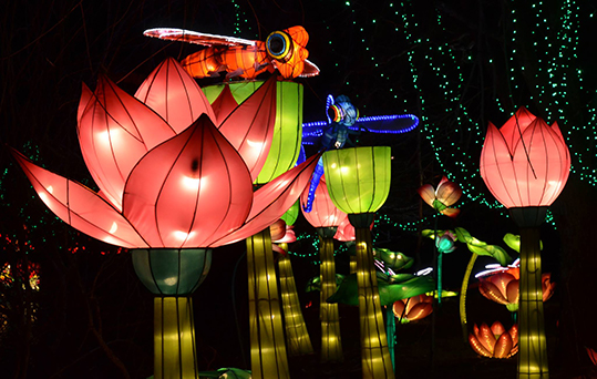 Chinese Lantern Festival at Fairplex