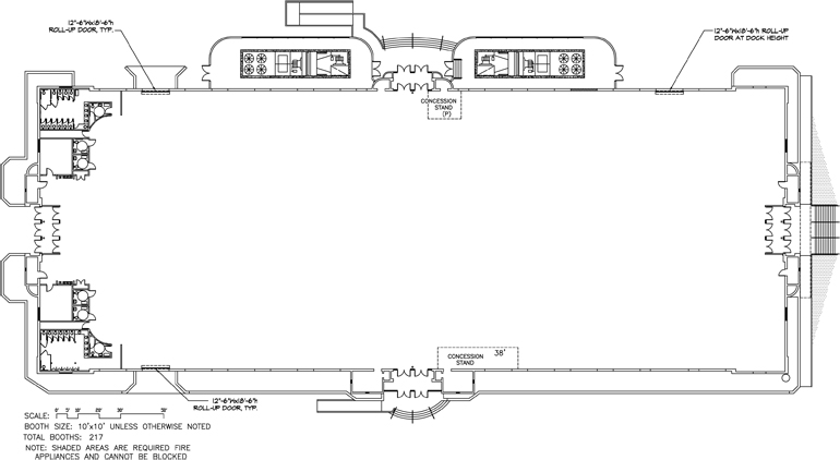 Fairplex Building 9 Blueprint