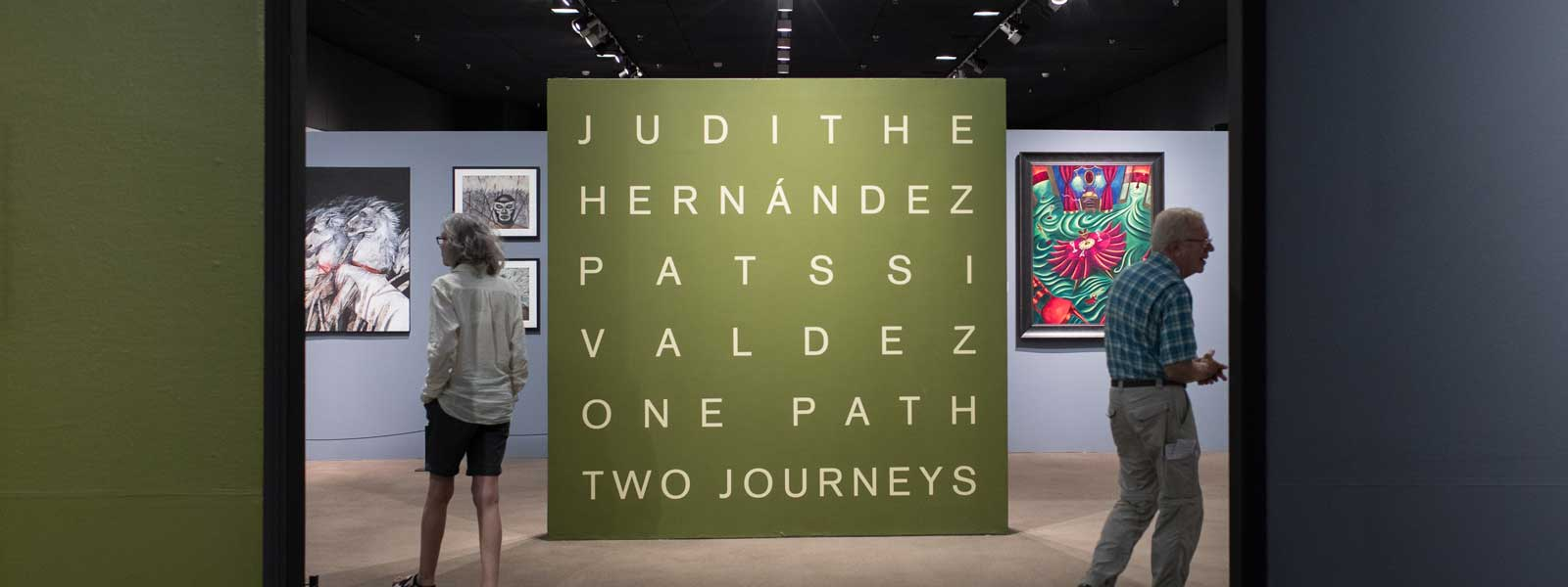 Judithe Hernandez and Patssi Valdez One Path Two Journeys